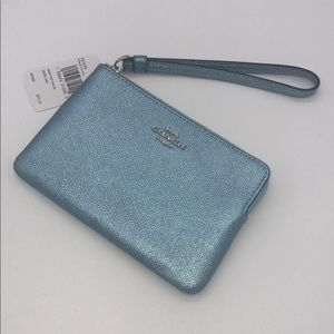 NWT Authentic Coach wristlet
